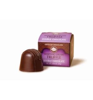 0.85 oz DOUBLE CHOCOLATE TRUFFLE / 6 ct