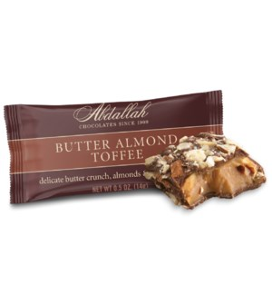 .5 oz Butter Almond Toffee - SINGLE / 36 ct