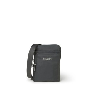 anti-theft activity crossbody bag - Charcoal