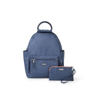All Day Backpack with RFID Pho - STEEL BLUE