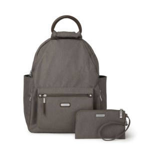 All Day Backpack with RFID Pho - DARK UMBER HERITAGE
