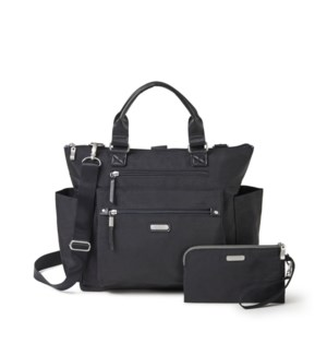 3-in-1 Convertible Backpack - BLACK