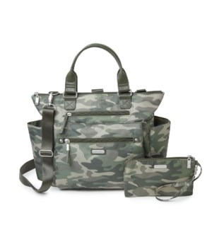 3-in-1 Convertible Backpack - OLIVE CAMO