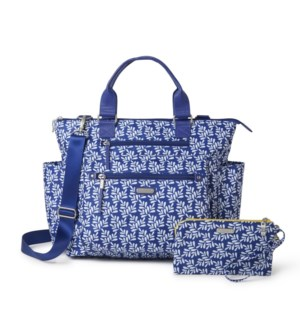 3-in-1 Convertible Backpack - COBALT TILE