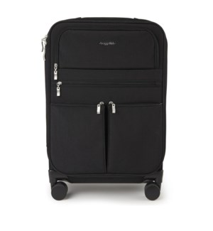 4 wheel carry-on - BLACK