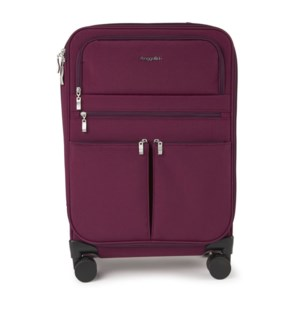 4 wheel carry-on - EGGPLANT