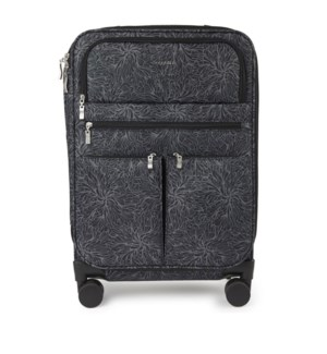 4 wheel carry-on - MIDNIGHT BLOSSOM PRINT
