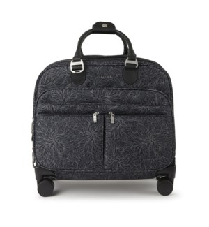 4 wheel tote - MIDNIGHT BLOSSOM PRINT