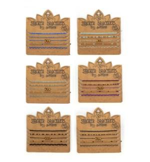 24PC STACKER BRACELETS
