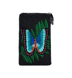 CLUB BAG BLUE BUTTERFLY