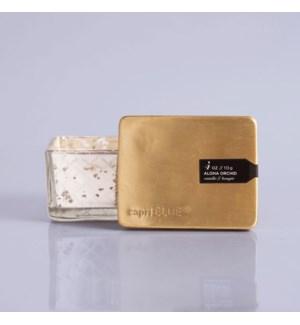 Aloha Orchid Mercury Jewel Box Candle