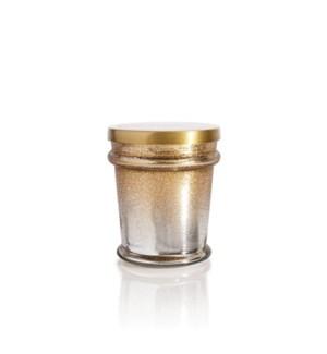 Crystal Pine Glitz Found Glass