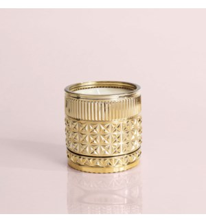 Exotic Blossom & Basil Gilded Muse Faceted Jar Candle, Single