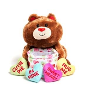 Basket of Love Bear     -     NEW