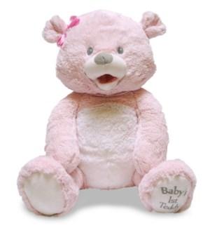 Baby's First Singin' Teddie - Pink