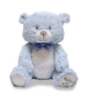 Baby's First Lullaby Teddie - Blue