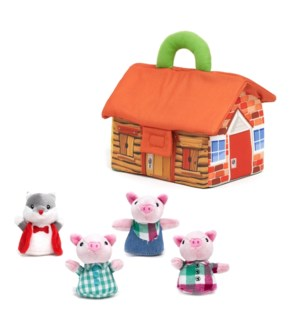 3 Little Pigs Storytime Playset     -     NEW