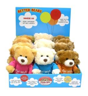 Better Bears Squeezers (Display)