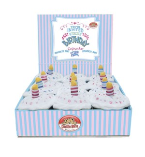 Blue & Pink Cupcakes (display)     -     LOW STOCK