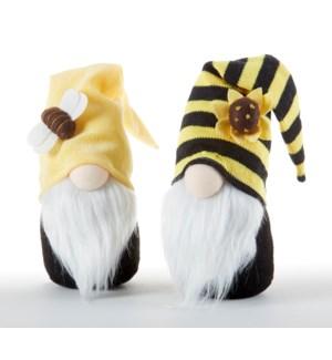 Bee Gnome Stump, 2 Asst
