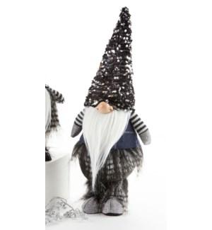 Black Sequin Hat Warlock
