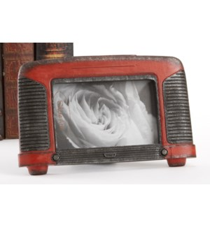 Antique Radio Photo Frame