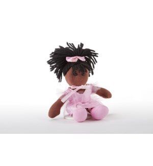 Apple Dumplin Doll, African American Ballerina