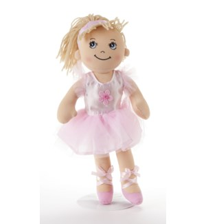 Apple Dumplin Doll, Pink Ballerina