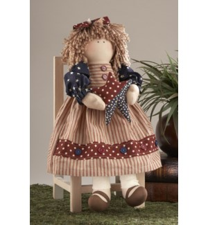 Americana Girl Doll w/ Star