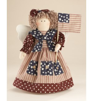 Americana Angel Stump Flag