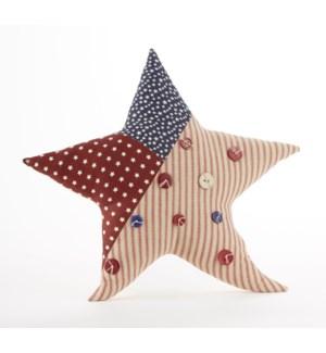 Americana Star Pillow