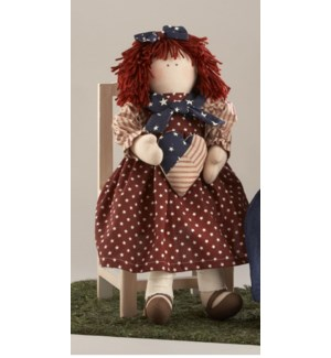 Americana Girl Doll w/ Heart