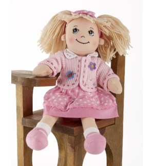 Apple Dumplin Doll, Pink Dot