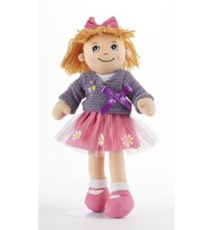 Apple Dumplin Doll, Purple Wrap