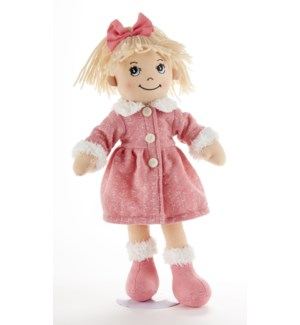 Apple Dumplin Doll, Pink Math