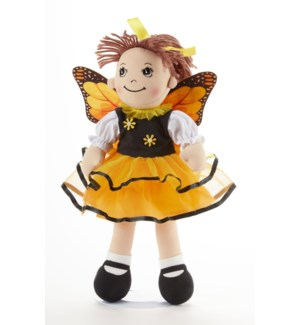 Apple Dumplin Doll, Butterfly