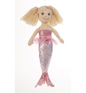 Apple Dumplin Doll, Pink Mermaid