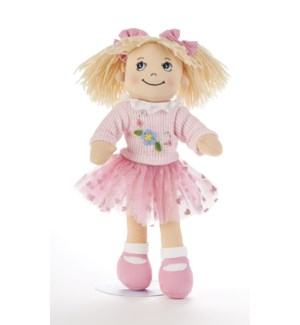Apple Dumplin Doll, Pink Tutu Skirt