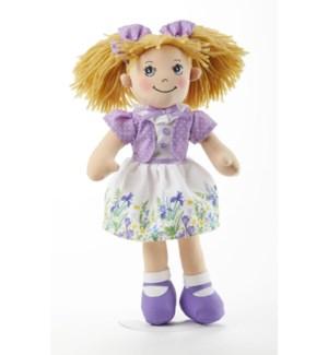 Apple Dumplin' Doll, Purple Iris