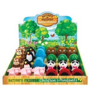 ASSORTED ANIMAL BOXES 24PC UN