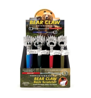 BEAR CLAW BCK SCRTCHR 24PC DIS