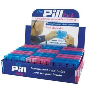 7 DAY PLASTIC PILL BX 24PC DIS