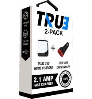 2-Pack Car and Home Charger, Bulk