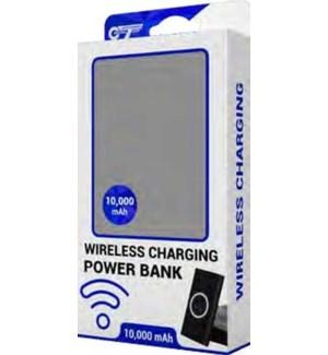 10,000 mah Qi Wireless Power Bank
