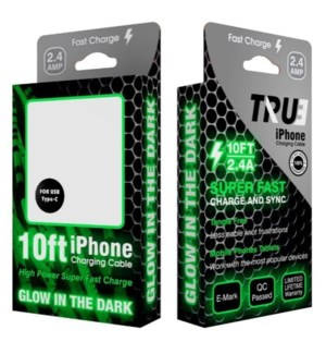 10ft Boxed Glow Cables for iPhone