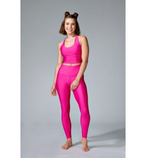 Basic Legging - Hot Pink - S