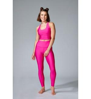 Basic Legging - Hot Pink - XS