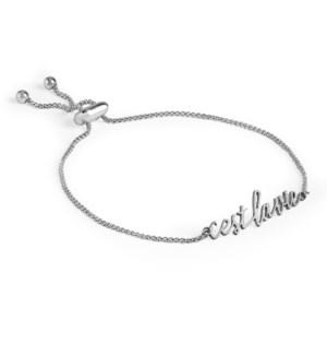 Coco + Carmen C+C Word Bracelet Cest La Vie