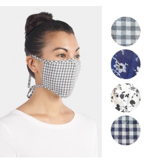Coco + Carmen Adult Bright Pattern Face Mask Set