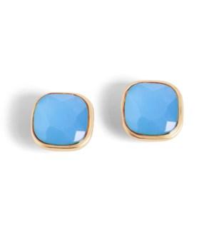 Coco + Carmen Bling Pop Earrings Blue